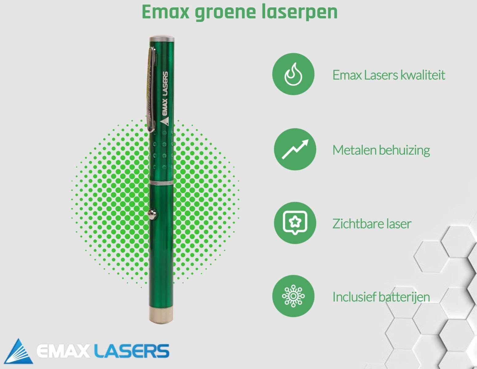 emax groene laserpen banner